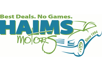 Haims Motors Homepage - Mobile Retina Logo
