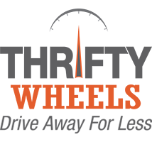 Thrifty Wheels Homepage - Retina Logo