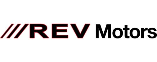REV Motors Homepage - Retina Logo