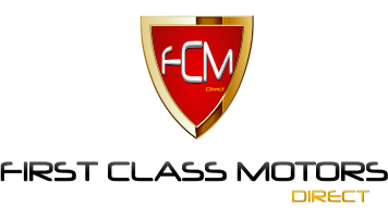 First Class Motors Direct Homepage - Retina Logo