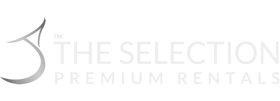 The Selection Premium Rentals Homepage - Retina Logo