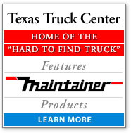 Texas Truck Center Features Maintainer Products