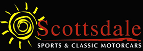 Scottsdale Sports and Classic Motorcars Homepage - Logo