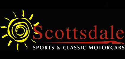 Scottsdale Sports and Classic Motorcars Homepage - Retina Logo