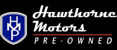 Hawthorne Motors Pre-Owned Homepage - Logo