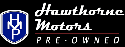 Hawthorne Motors Pre-Owned Homepage - Retina Logo