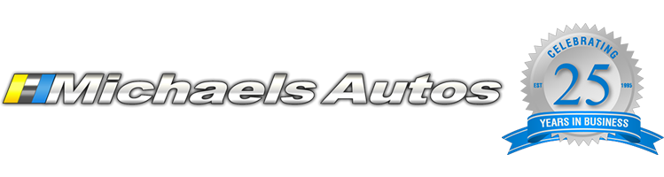 Michaels Autos Homepage - Retina Logo
