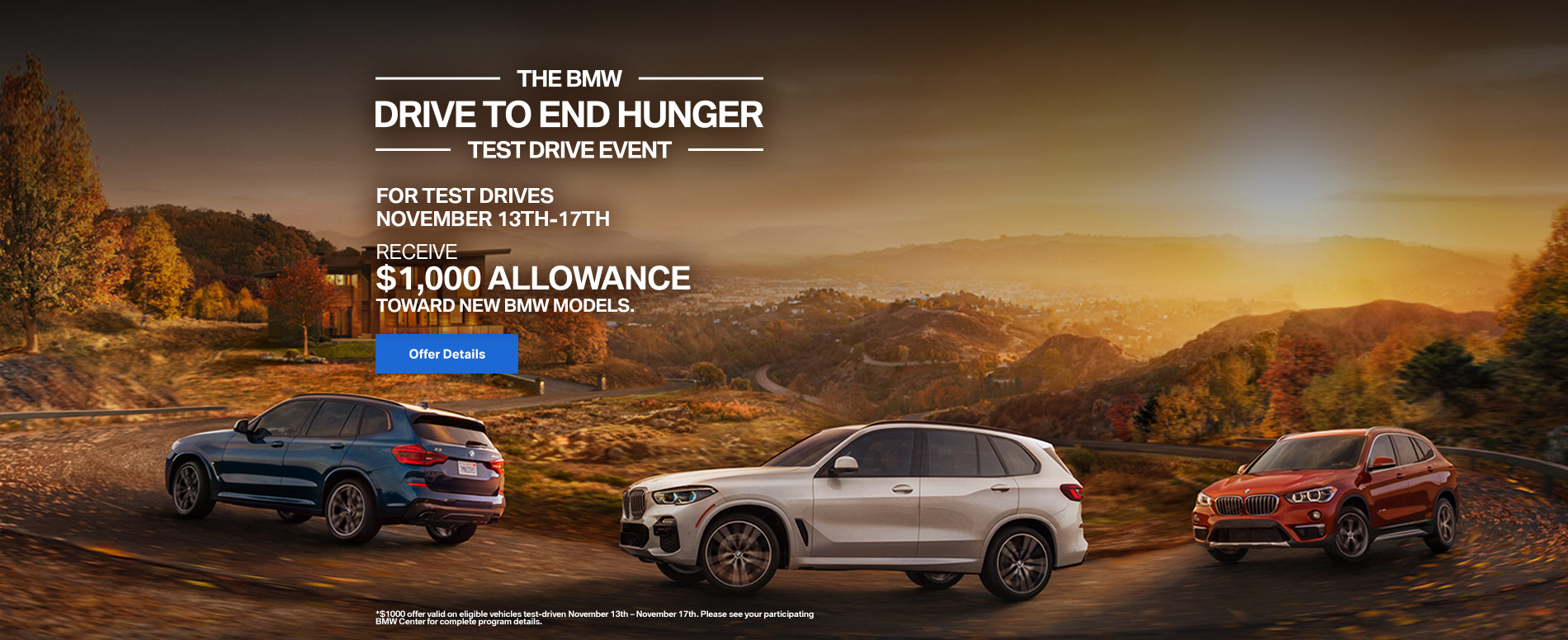 Test Drive to End Hunger