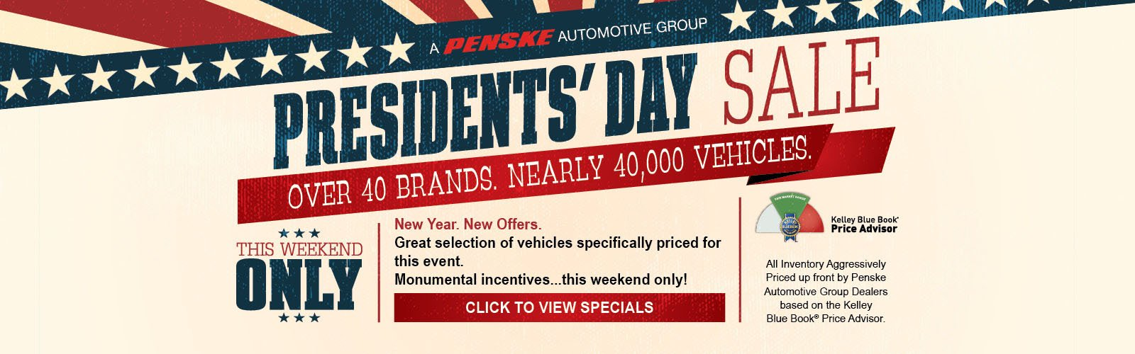 President's Day Sale
