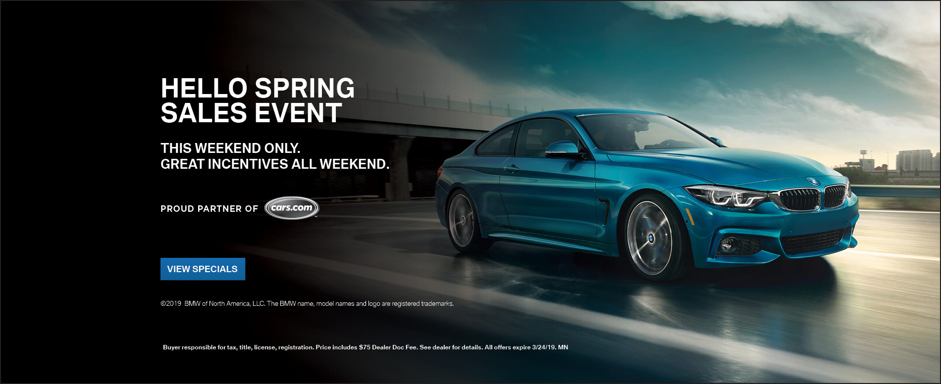 Hello Spring Sales Event