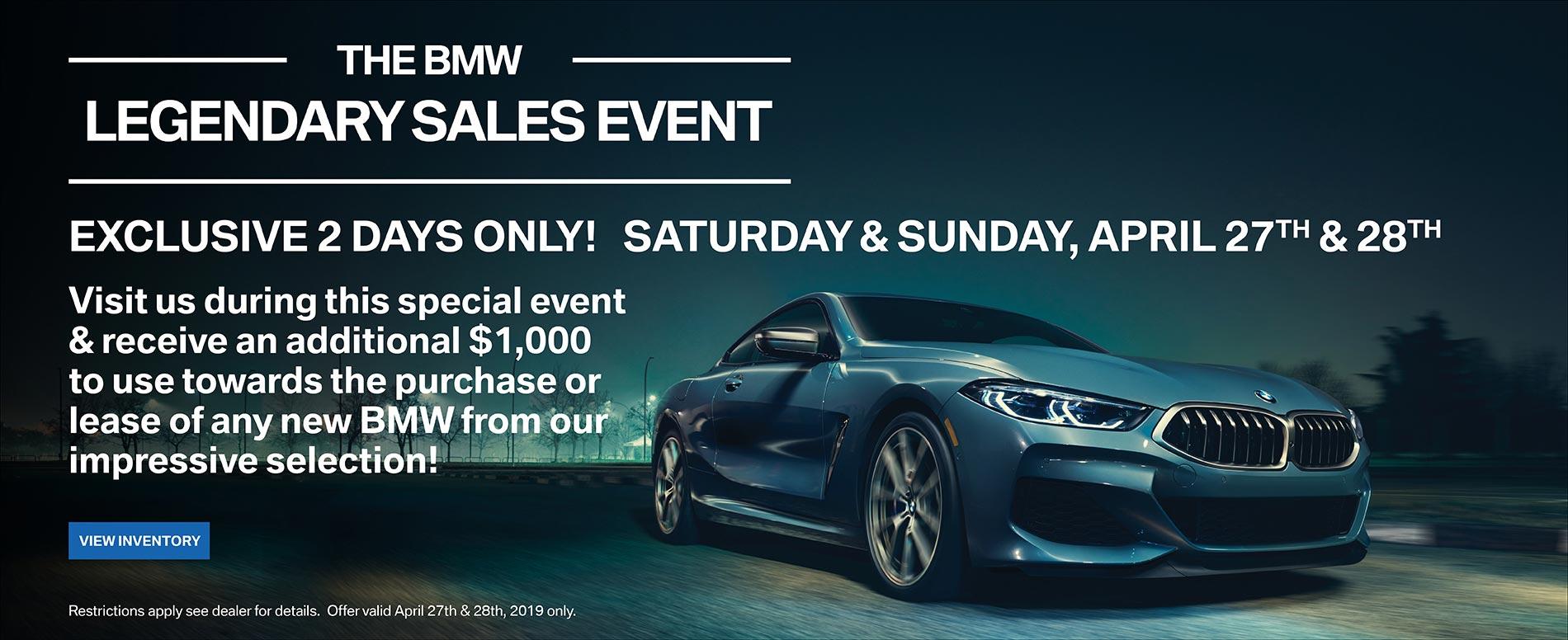 Legendary Sales Event