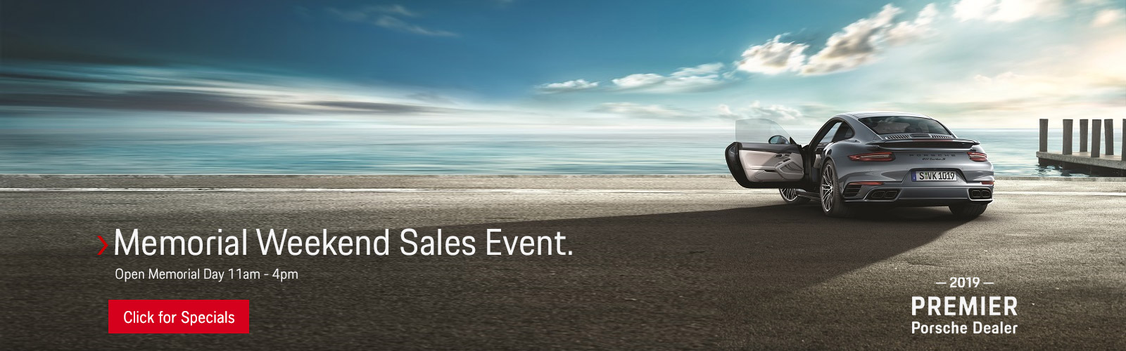 Memorial Day Weekend Sales Event