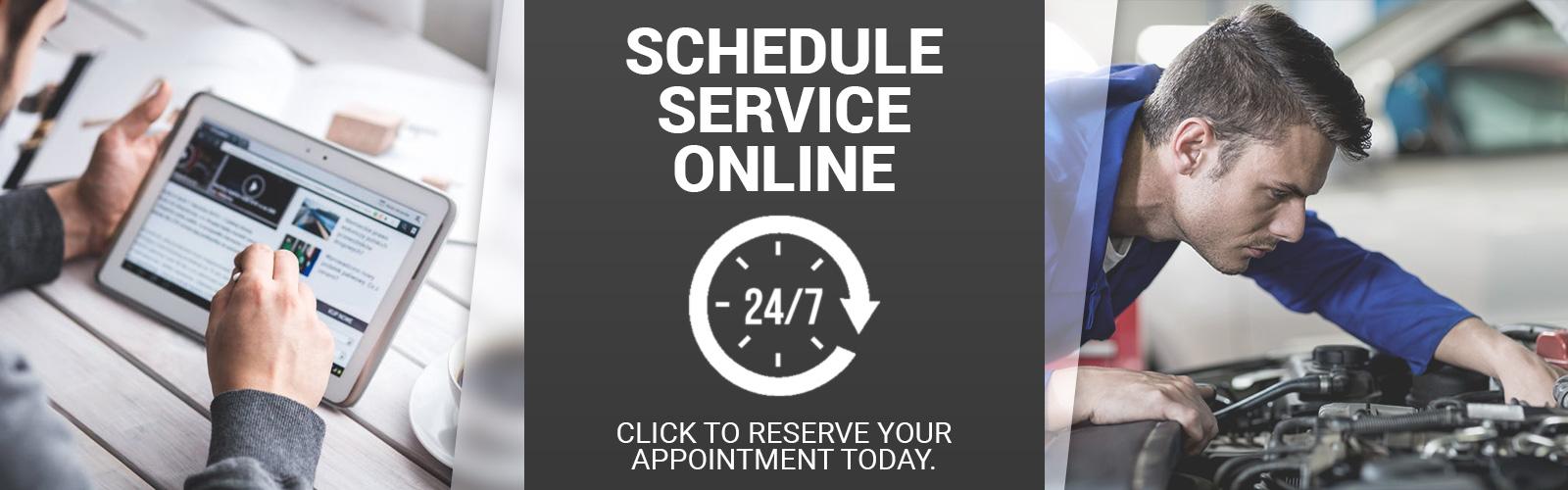 Schedule Service 24-7 Online
