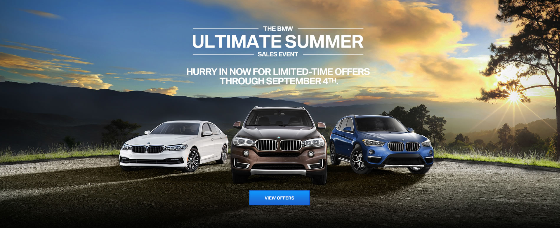 The BMW Ultimate Summer Sales Event