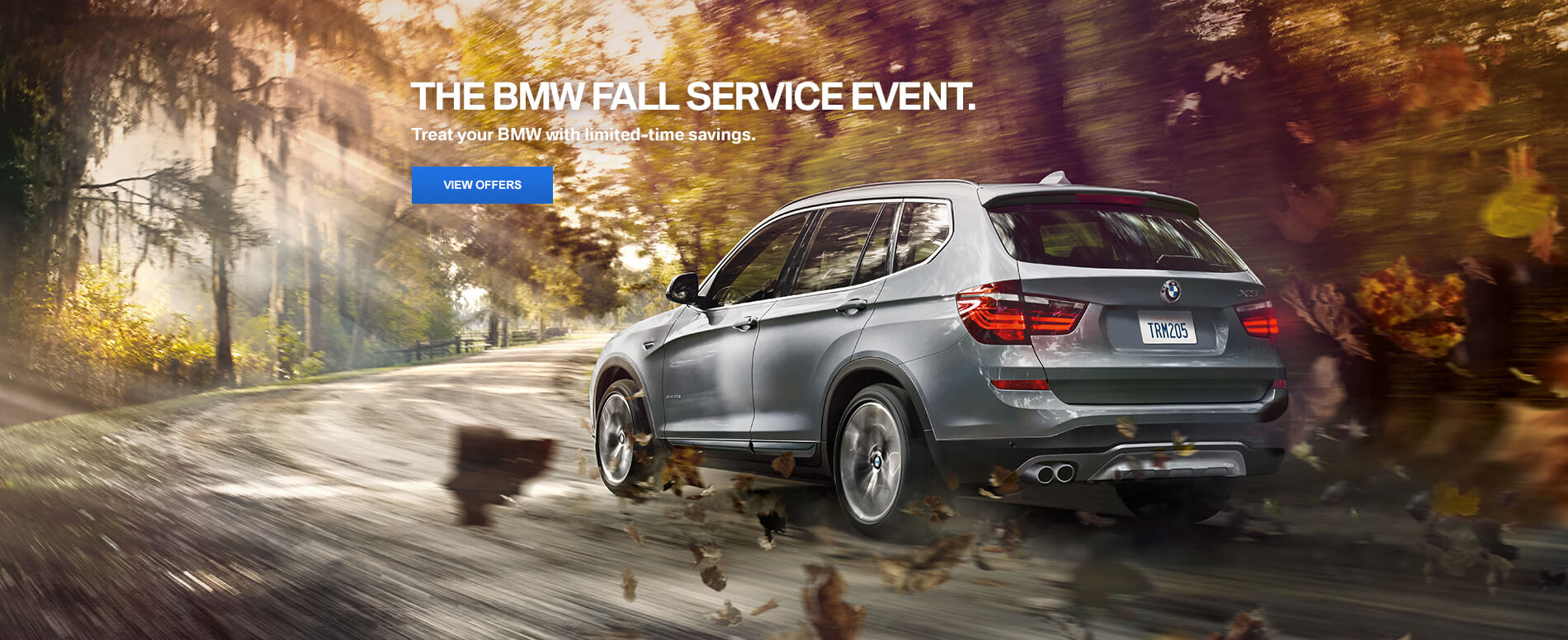 BMW Fall Service Event