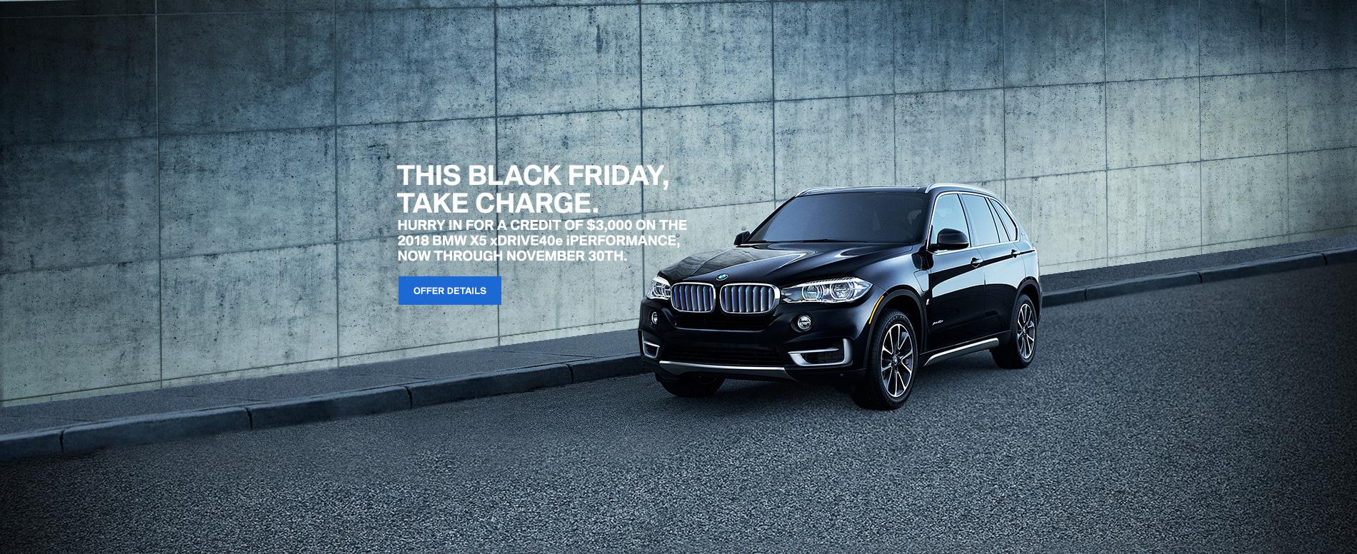 BMW Black Friday