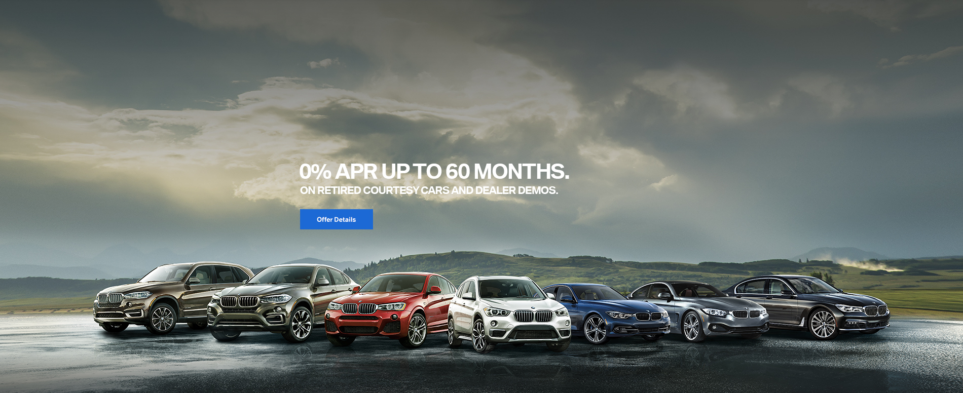 0% APR on Retired Service Loaners and BMW Company Cars