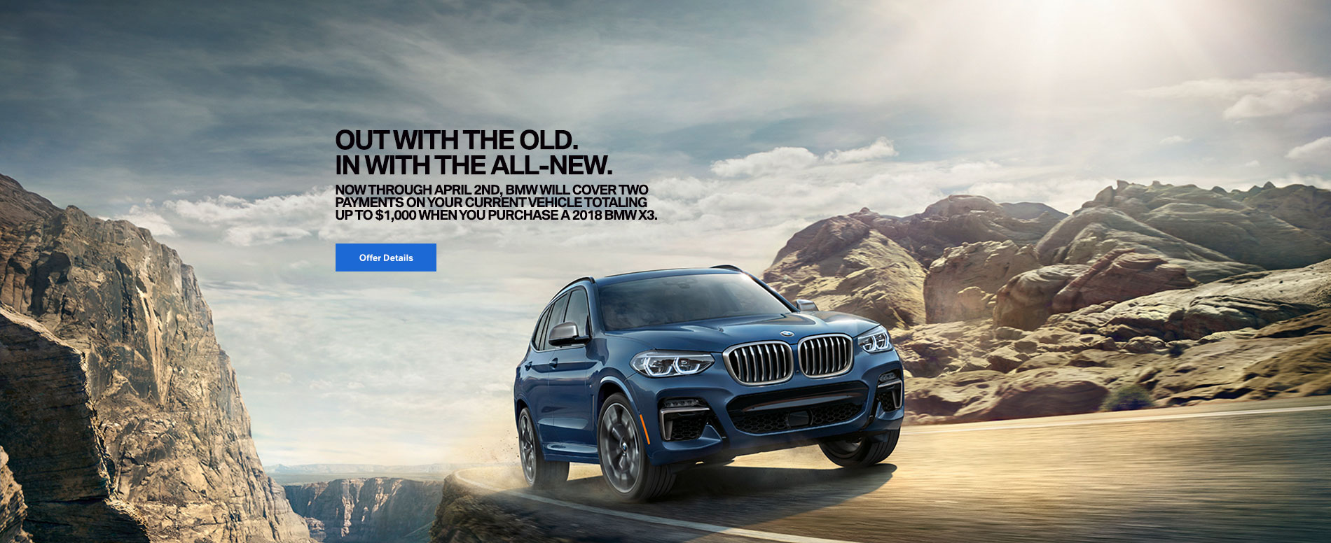 All-New X3 CAPABLE OF MORE
