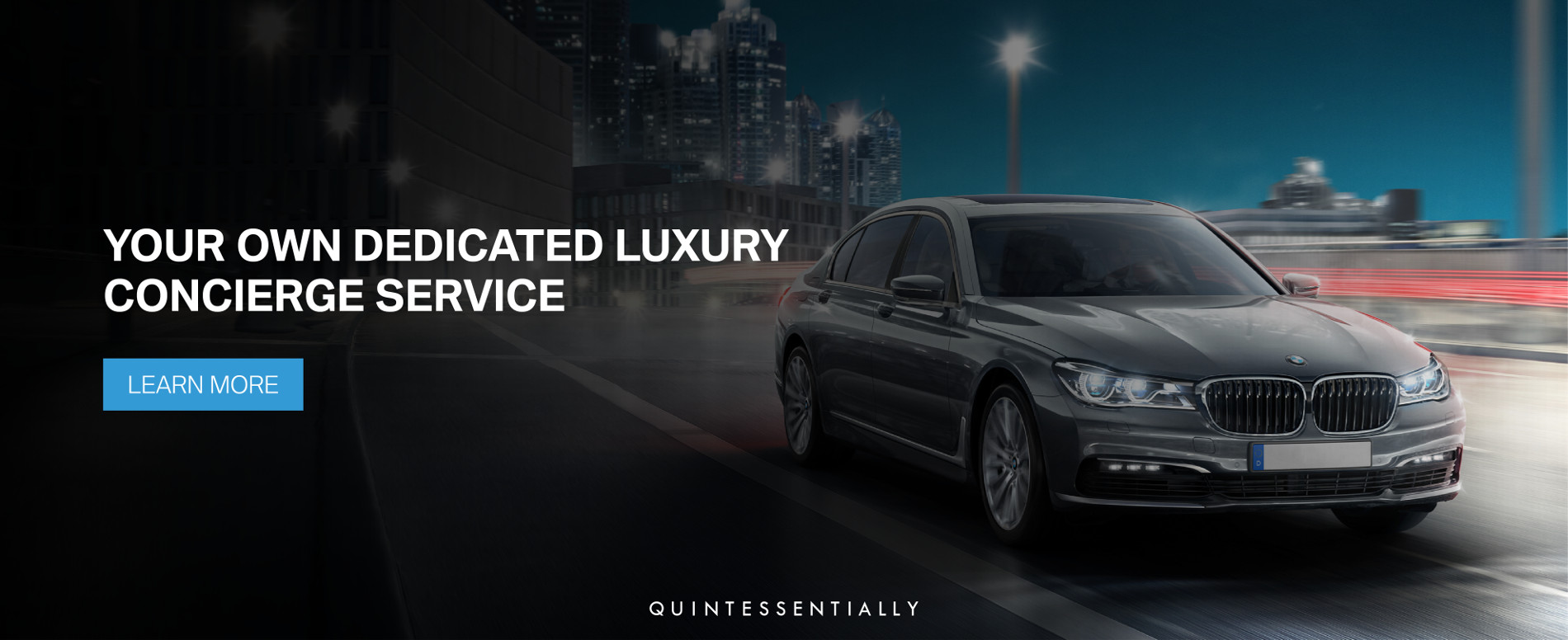 Quintessentially 7 Series offer