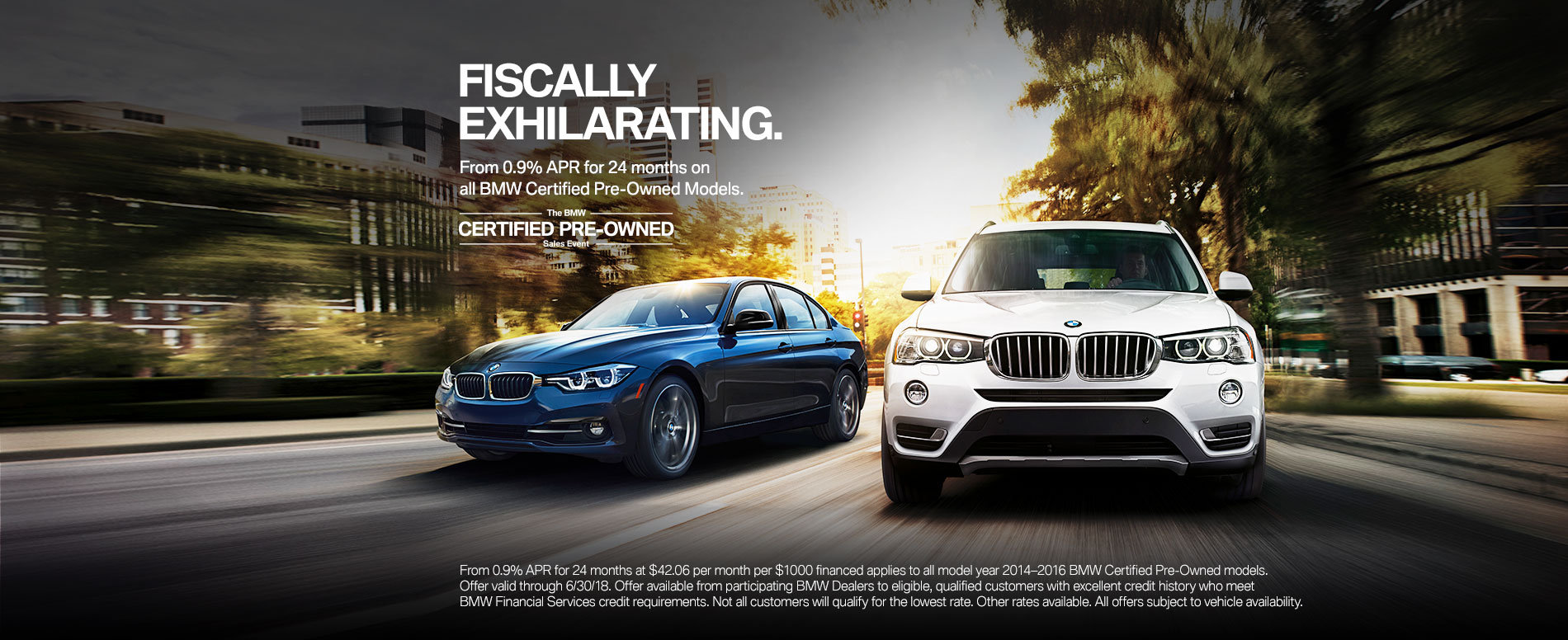 ENJOY EXCEPTIONAL OFFERS ON ALL 2014 & 2015 BMW CERTIFIED PRE-OW