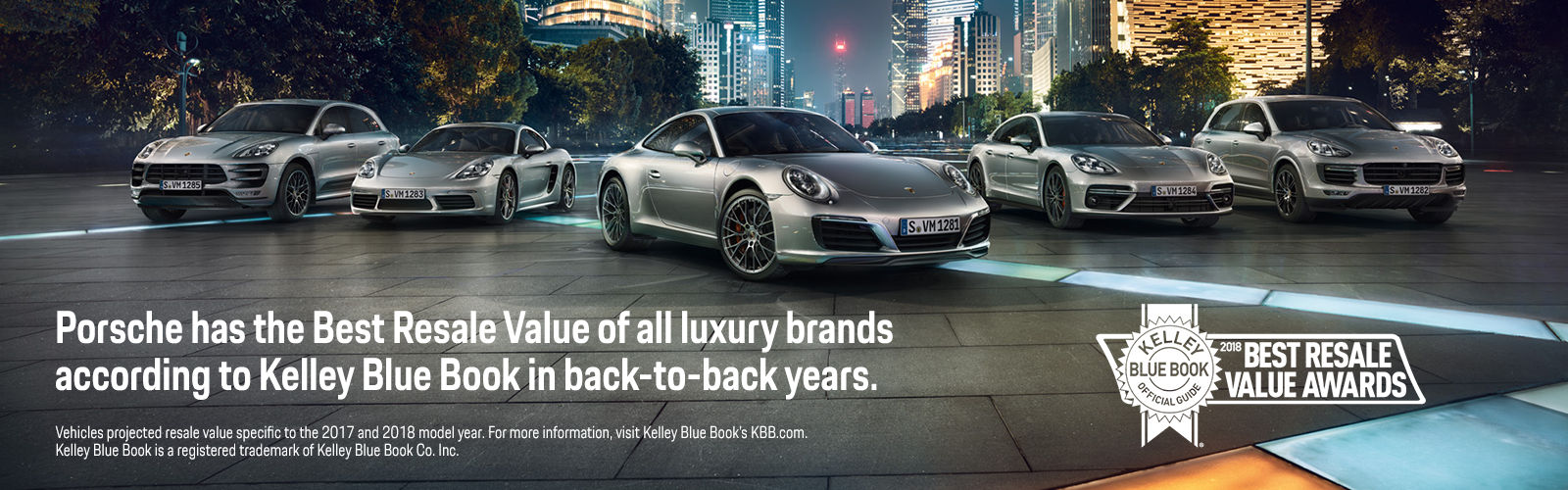 Porsche Best Resale Value of all luxury brands