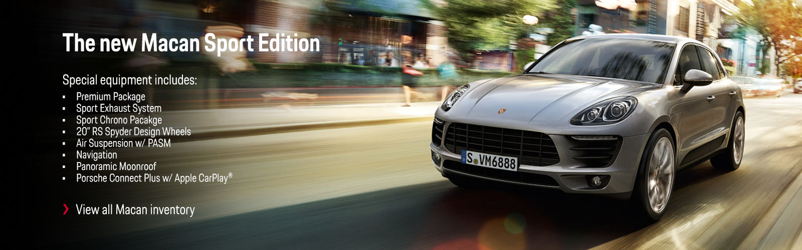 The New Macan Sport Edition