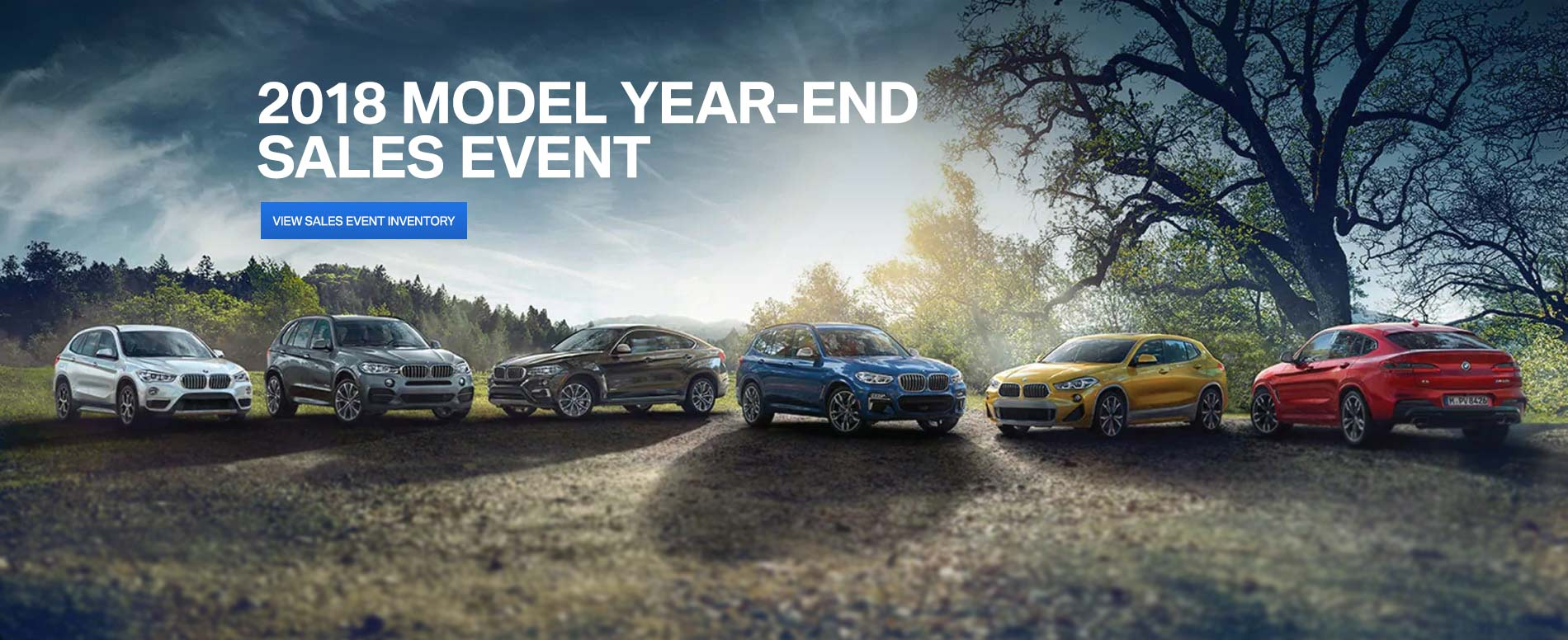 2018 Model Year End Sales Event