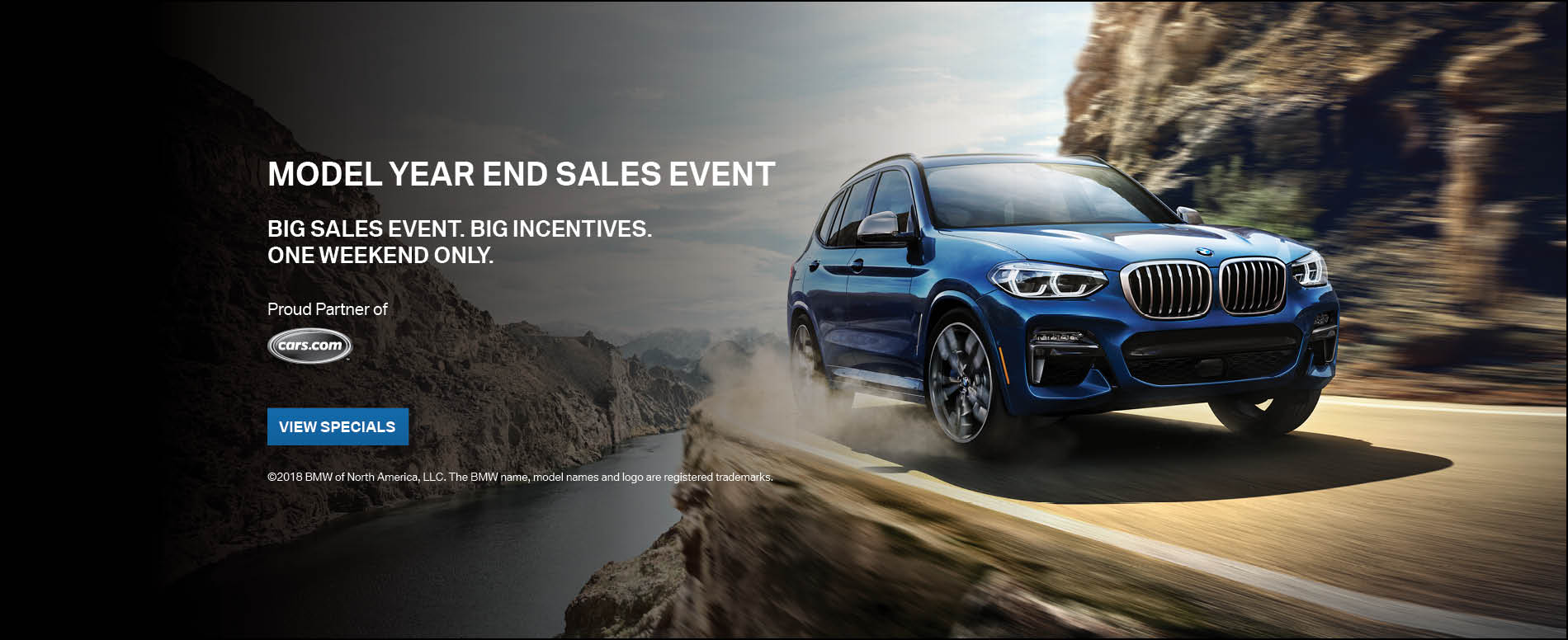 Model Year End Sales Event