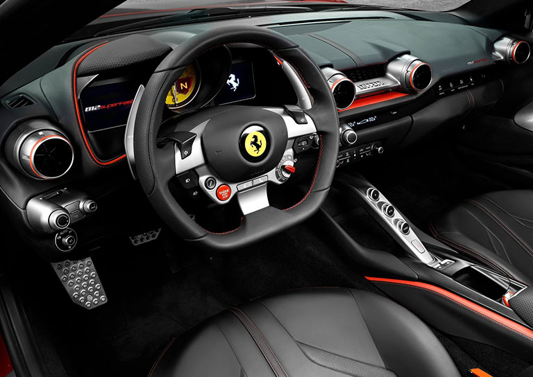 Ferrari 812 Superfast Interior