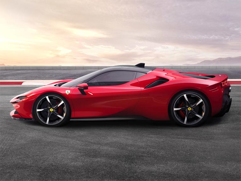 Ferrari SF90 Stradale Design Overview