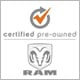 This Vehicle is Ram Certified Pre-Owned