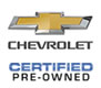 This Vehicle is Chevrolet Certified Pre-Owned