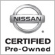 This Vehicle is Nissan Certified Pre-Owned