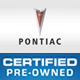 Pontiac Certified Pre-Owned