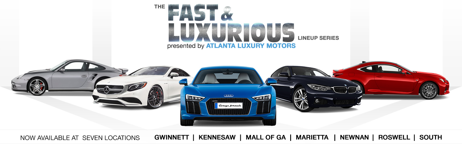 Atlanta Luxury Motors Roswell home page