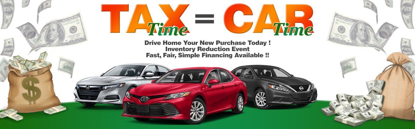 Tax Time Specials (Reduction)
