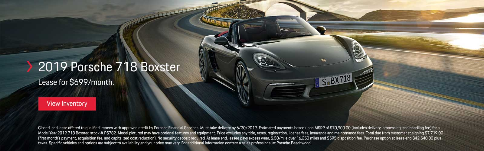 718 Boxster 06/04/19