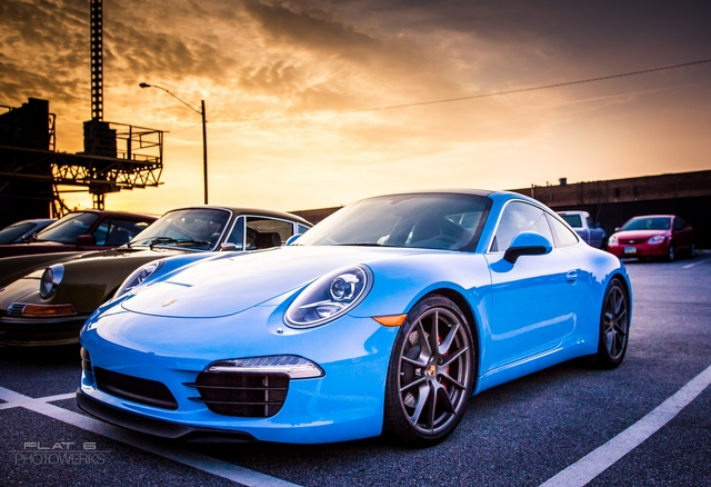Paint-to-Sample 911 in Riviera Blue