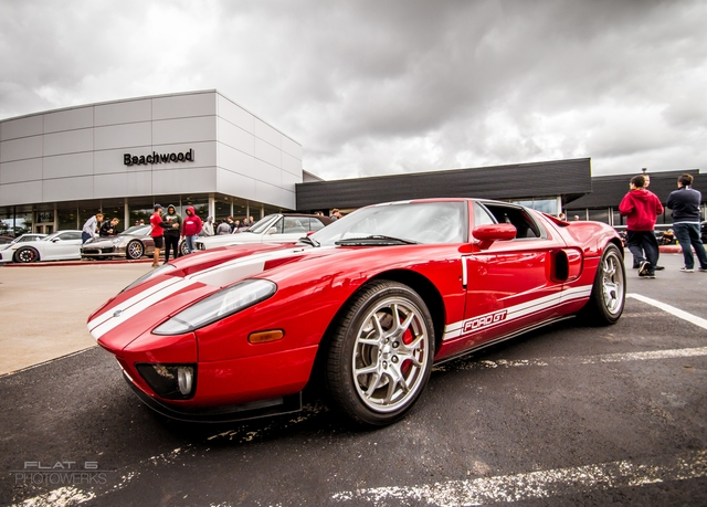 The Ford GT - A rare sight and great to have at CnC!