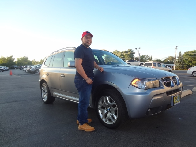 2006 BMW X3 M package!
