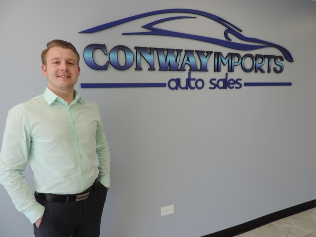 Sebastian Kwapien - Finance Manager (630) 830-3600 Ex. 113 conwayimports@gmail.com