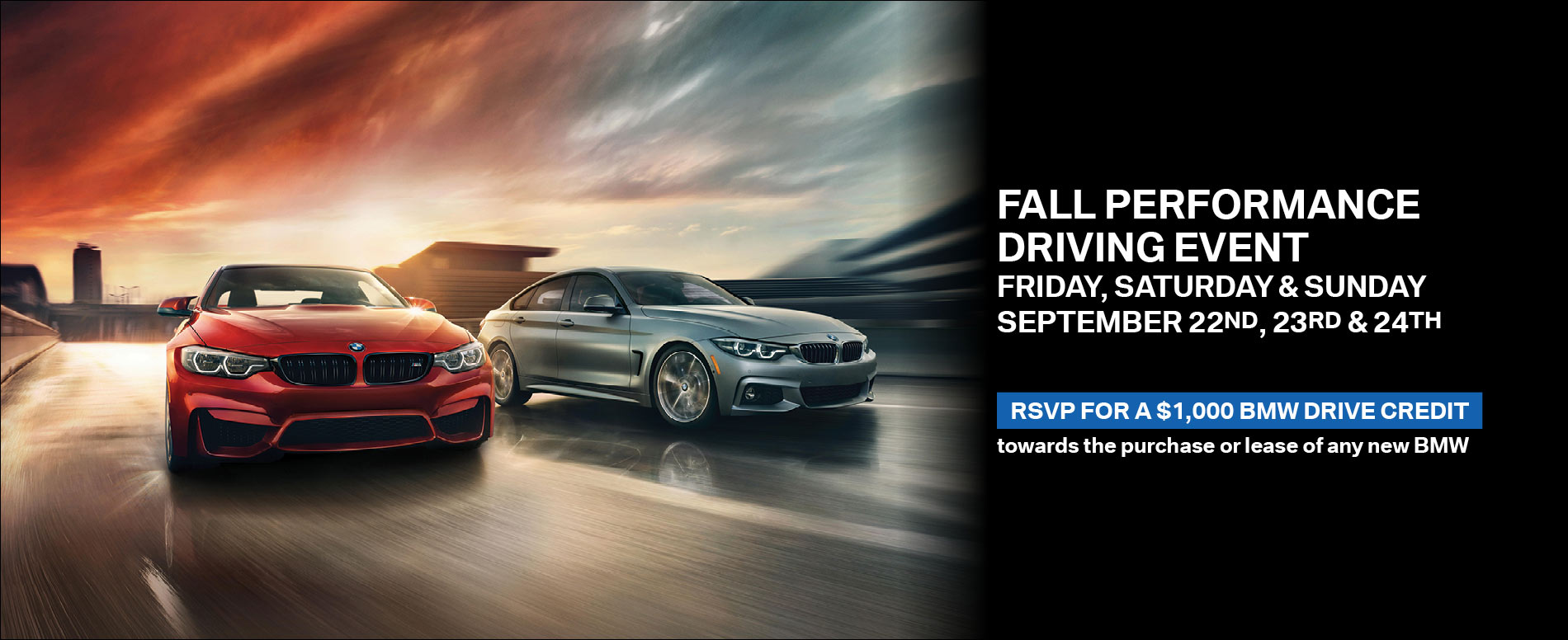 Fall Performance Event 9/13/17