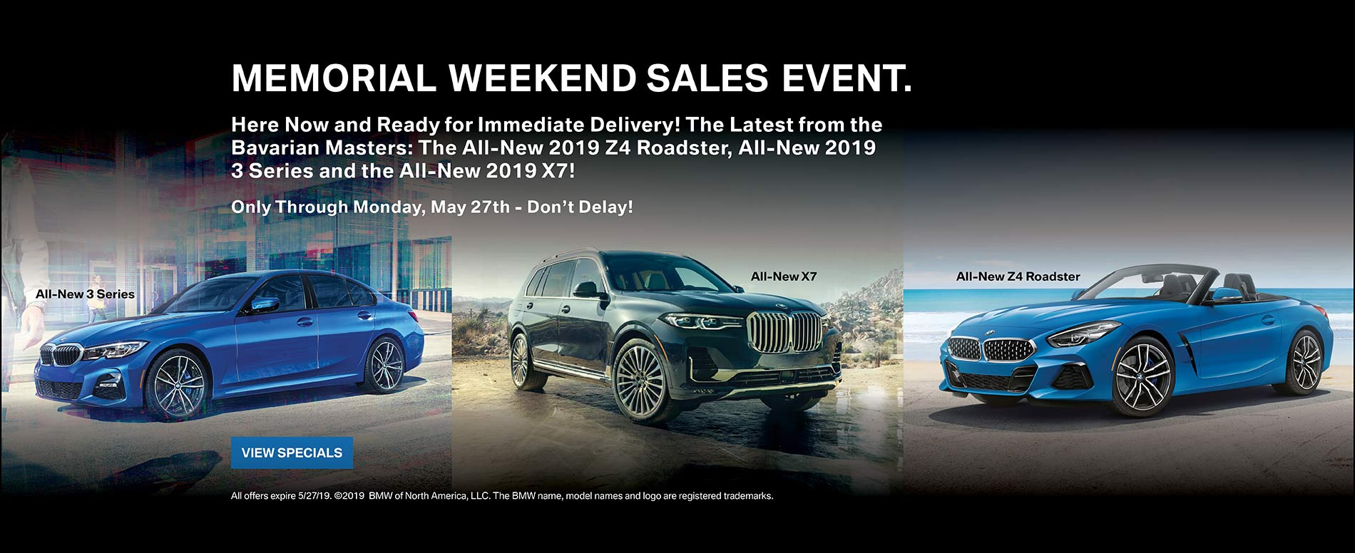 Memorial Weekend Sales Event 2019