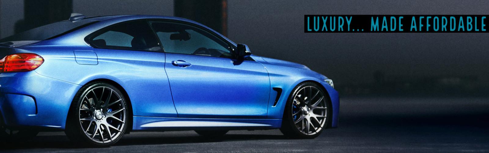 Affordable Luxury - Nightime BMW