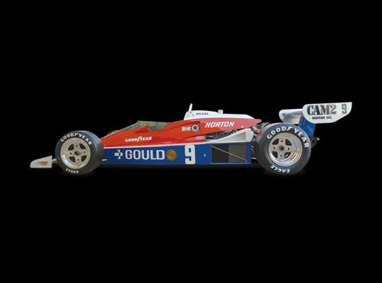 Penske PC-6 | 1979 Indianapolis 500 Winner | Rick Mears Engine: Cosworth Ford DFX V8 | Horsepower: 800bhp @ 9,000 RPM