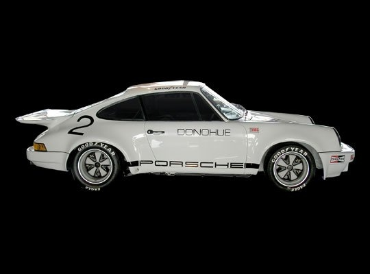1973 Porsche IROC RSR | Mark Donohue Engine: 3.0 liter air-cooled flat 6 | Horsepower: 316bhp @ 8,000 RPM