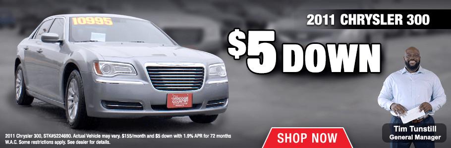 2018 Jan - 2011 Chrysler 300