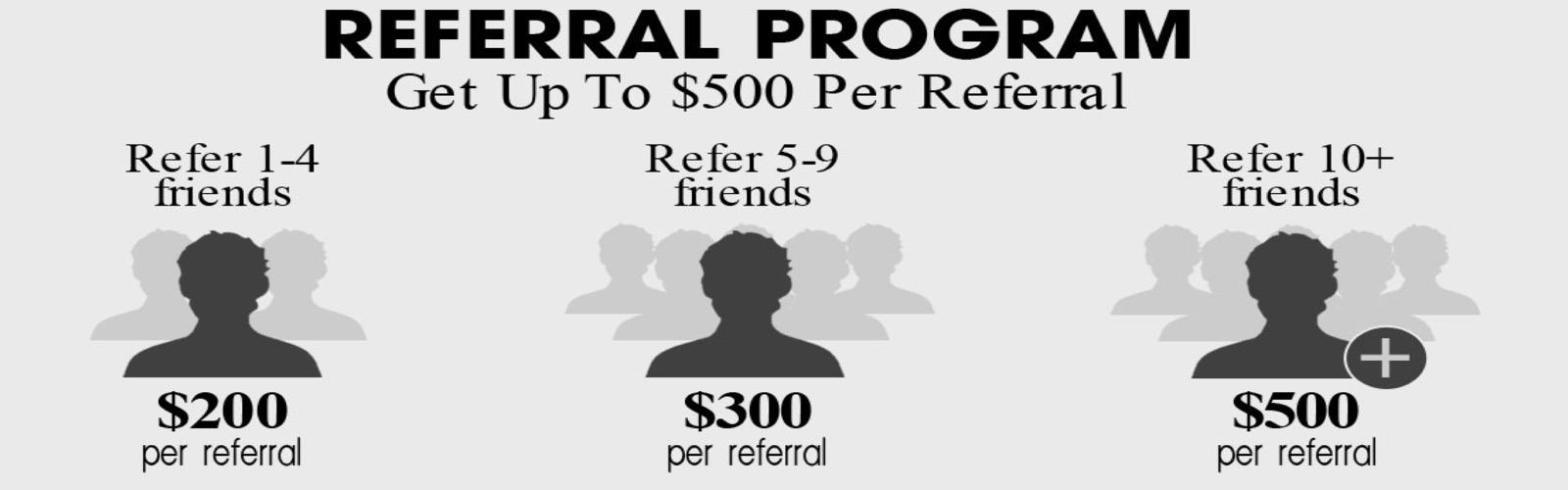 Referal program