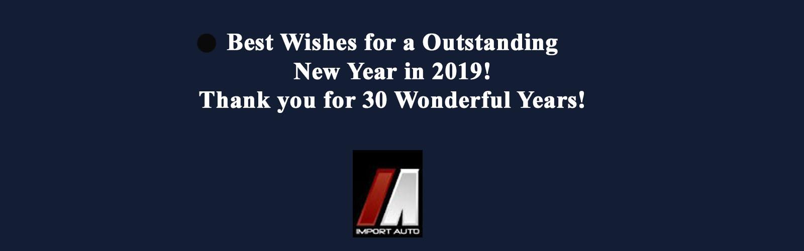 2019 New Year Slider