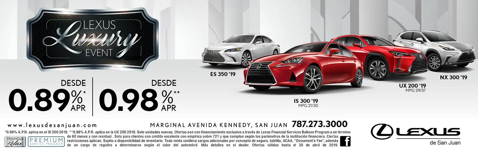 Lexus Luxury Event